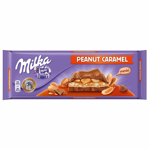 Milka Large Peanut and Caramel Chocolate, 9.7 oz (276 g)