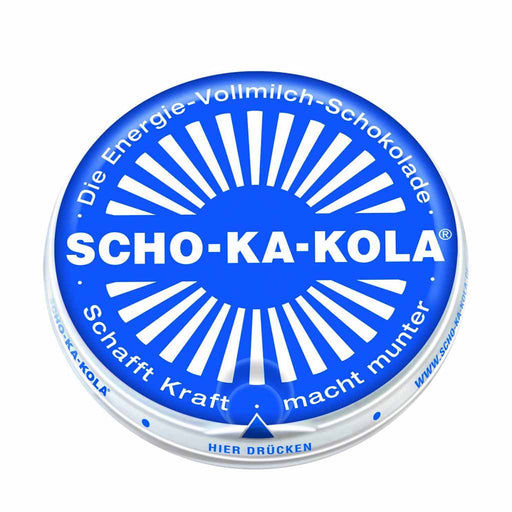 Scho-Ka-Kola Caffeine Milk Chocolate, 3.5 oz (100 g)