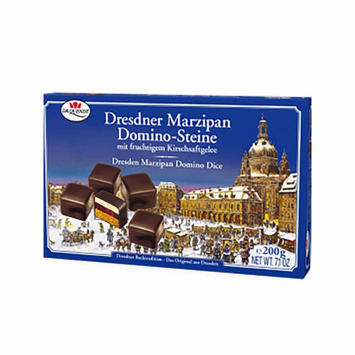 Dr. Quendt Dresdner Marzipan Domino 7 oz. (200g)