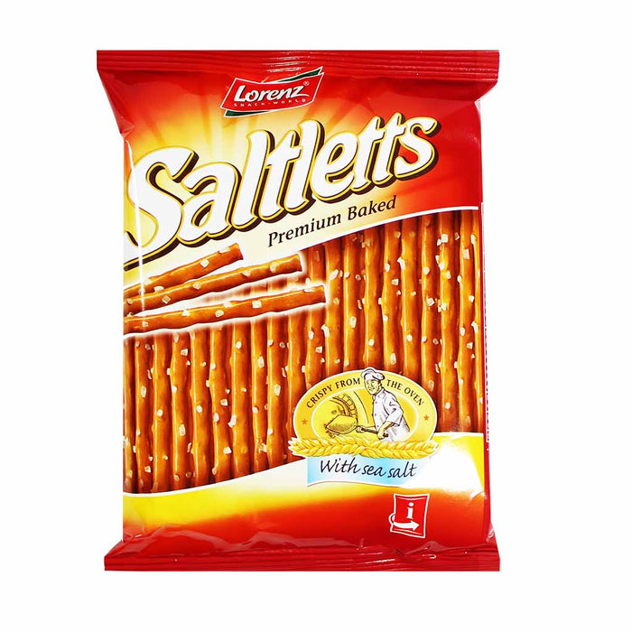 Lorenz Saltletts Classic Pretzel Sticks Bag, 2.6 oz (75 g)
