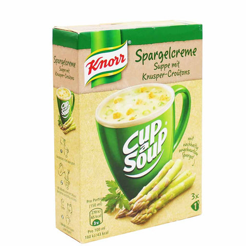 Knorr Cream of Asparagus Cup a Soup 3 - 0.4 oz. Packets (14g)