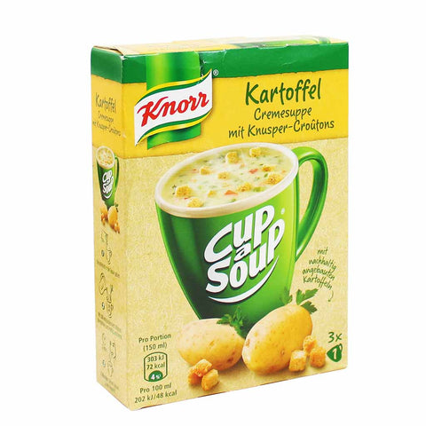 Knorr Cream of Potato Cup a Soup 3 - 0.5 oz. Packets (16g)