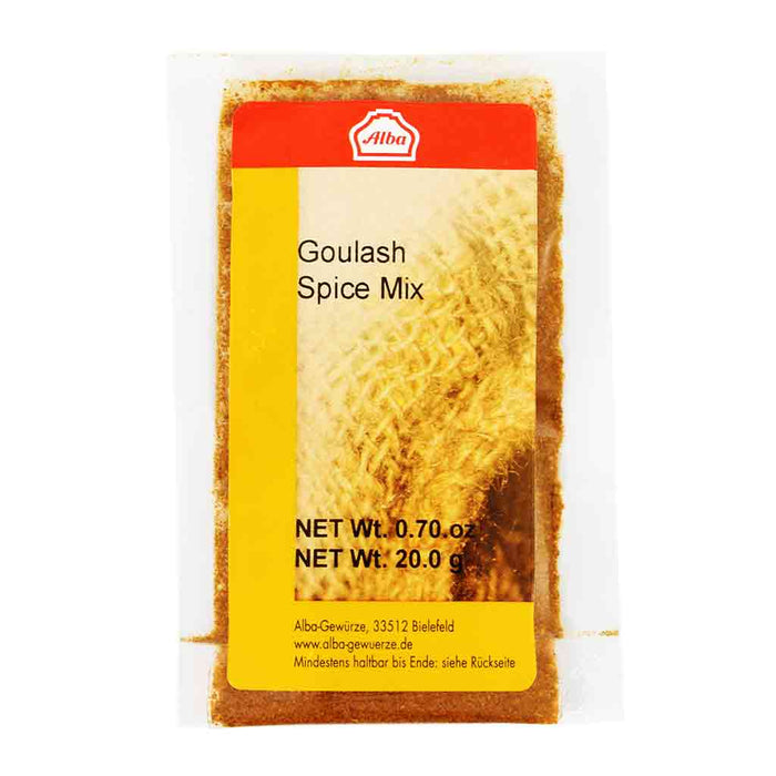 Alba Goulash (Beef Stew) Spice Mix, 0.7 oz (20 g)