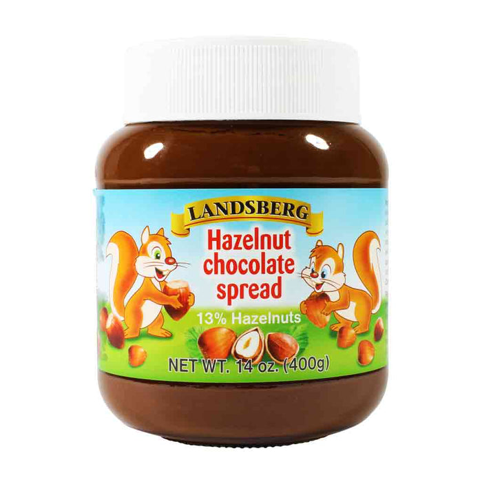 Landsberg - Chocolate Hazelnut Spread, German, 14 oz. (397g)