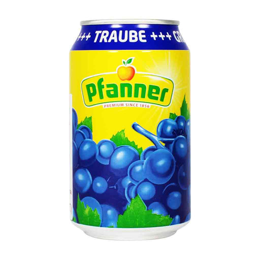 Pfanner Red Grape Juice 11.1 oz.