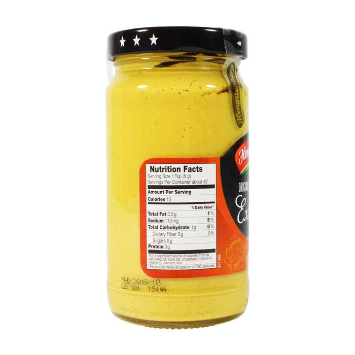 Hengstenberg German Medium Hot Mustard 7.4 oz.