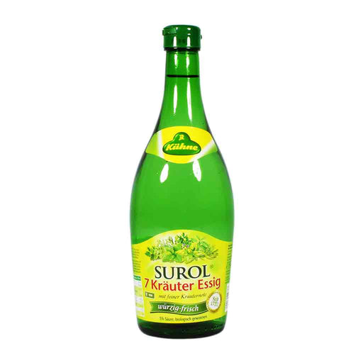 Kuhne German 7 Herb Vinegar, 25.4 fl oz (750 ml)