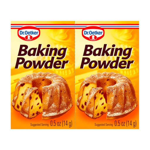 Dr. Oetker Baking Powder, 6 x 0.5 oz (14g)