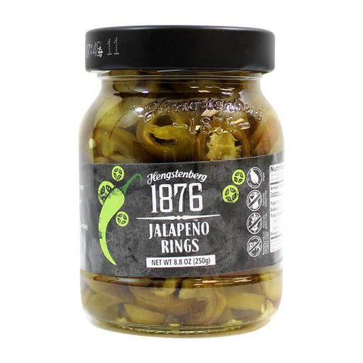 Hengstengberg - Jalapeno Rings, Germany, 8.8 oz. (250 g)