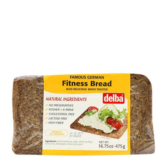 Delba Ð Fitness Bread, Germany, 16.75 oz. (475 g)