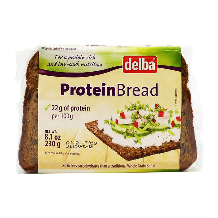 Delba – Protein Bread, Germany, 8.1 oz. (230 g)