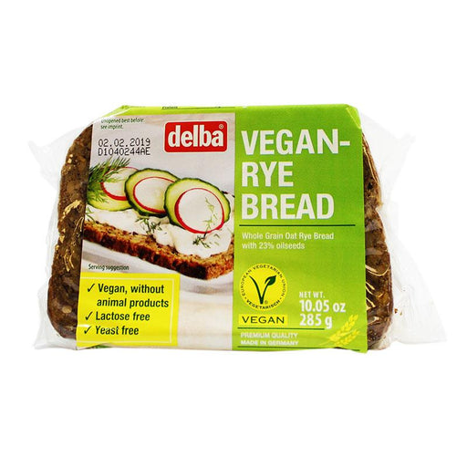 Delba – Vegan Rye Bread, Germany, 10.05 oz. (285 g)