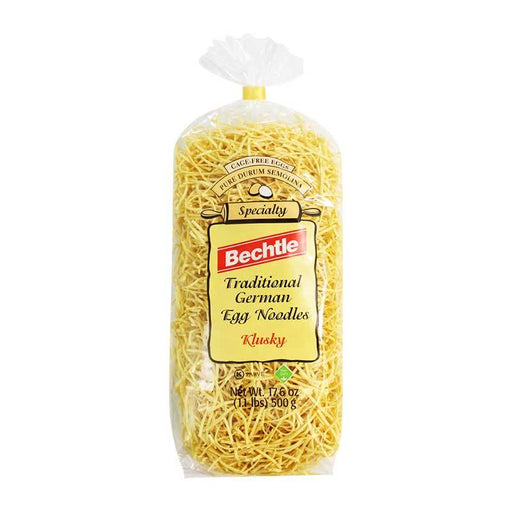 Bechtle Ð Traditional German Egg Noodles (Klusky), bag, 17.6 oz. (500 g)