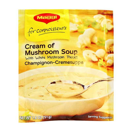 Maggi Ð Cream of Mushroom Soup, Packet, Germany, 1.8 oz. (51 g)