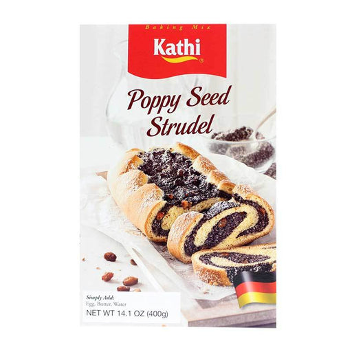 Kathi Ð Poppy Seed Strudel Mix, Germany, 14.1 oz. (400 g)