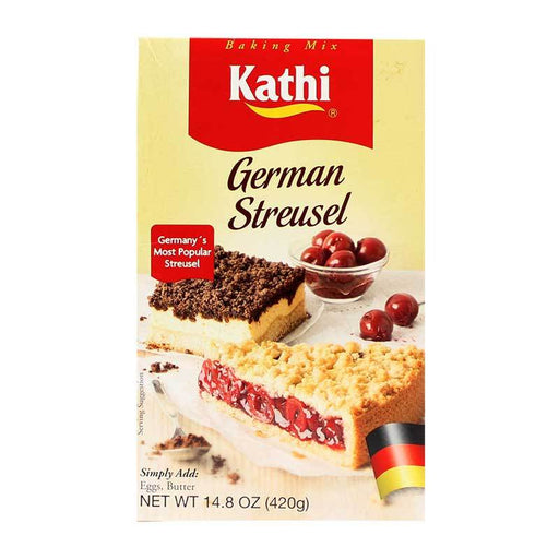 Kathi Ð German Streusel Mix, Germany, 14.8 oz. (420 g)