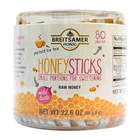Breitsamer Ð Honey Sticks (Raw Honey) 22.6 oz. (80 x 8g)