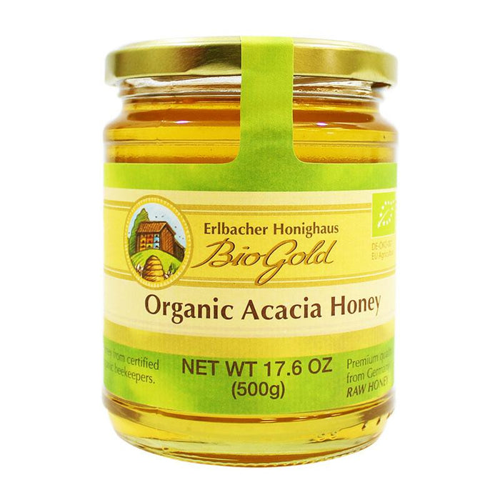 BioGold – Organic Acacia Honey, Germany 17.6 oz (500 g)