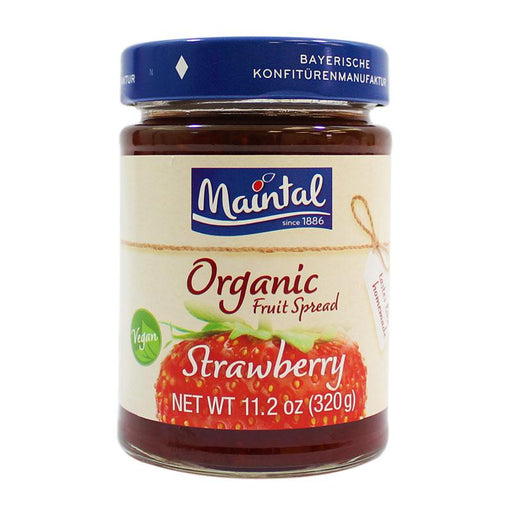 Maintal – Organic Strawberry Fruit Spread, Germany, 11.2 oz (320 g)