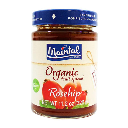 Maintal – Organic Rosehip Fruit Spread, Germany, 11.2 oz (320 g)