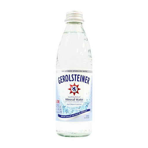 Gerolsteiner Ð Sparkling Natural Mineral Water, Germany, 11.2 fl. oz. (330 ml)