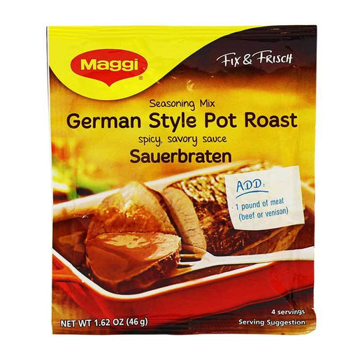 Maggi Sauerbraten Mix for German Pot Roast, 1.62 oz (46 g)