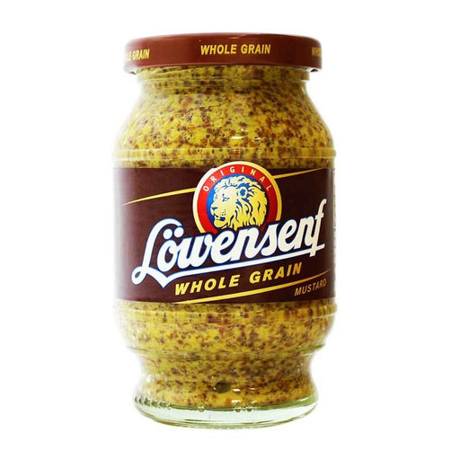 Lowensenf – Whole Grain Mustard, 9.34 oz (265 g)