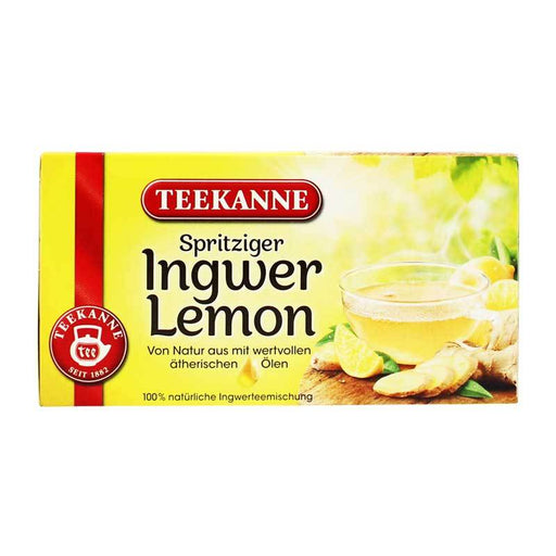 Teekanne Ð Ginger Lemon Tea, 1.23 oz (35 g)