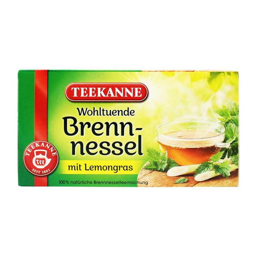 Teekanne Ð Nettle Leaf Tea with Lemongrass, 1.41 oz (40 g)
