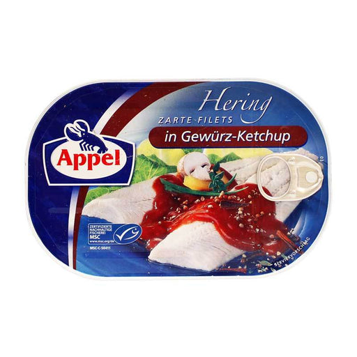 Appel Ð Herring Fillets in Spicy Ketchup, 7.05 oz (200 g)