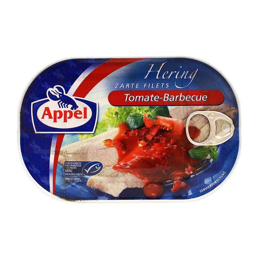Appel Ð Herring Fillets in Tomato Barbecue Sauce, 7.05 oz (200 g)