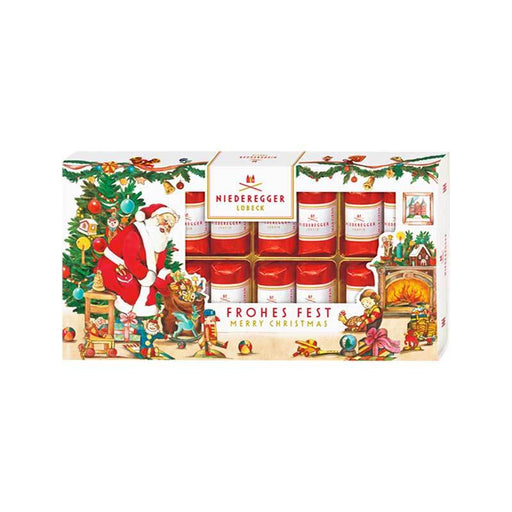Niederegger Classic Marzipan Pralines in Christmas Gift Box, 7.1 oz (200 g)