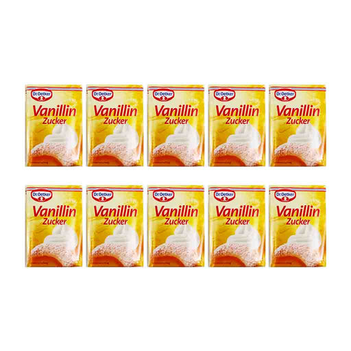 Dr. Oetker Vanilla Sugar, 10 Packets (10 x 0.3 oz)