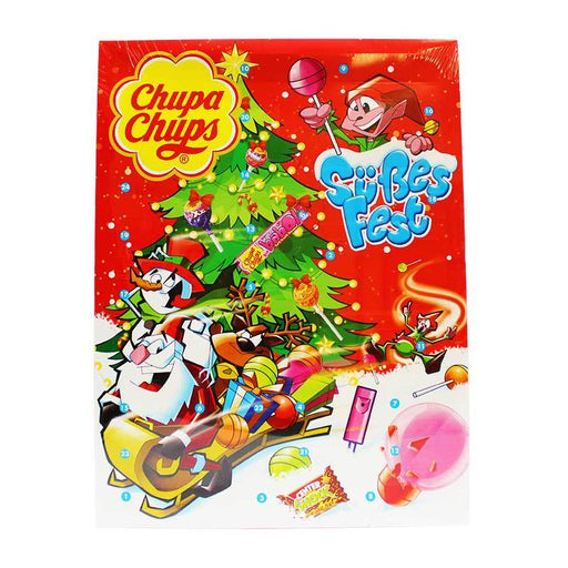 Chupa Chups  Candy Filled Advent Calendar, 11.64 oz (330 g)