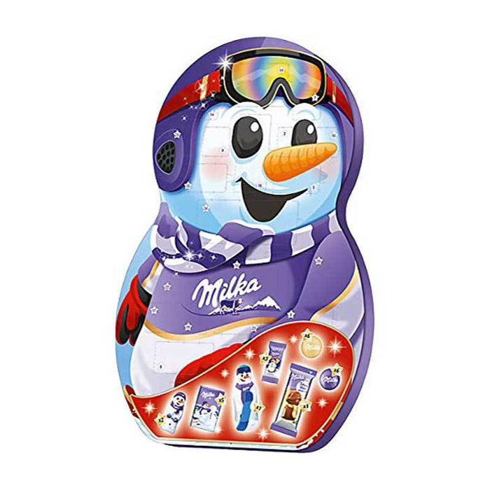 Milka Snowman Chocolate Advent Calendar, 8.32 oz (236 g)