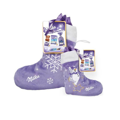 Milka Christmas Stocking Filled with Chocolates, 6.9 oz (196.5 g)