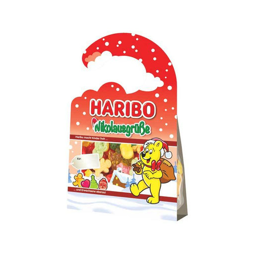 Haribo Christmas Greetings Gummies Door Hanger, 3.5 oz (100 g)