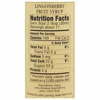Darbo Lingonberry Syrup, 16.9 fl oz (500 ml)