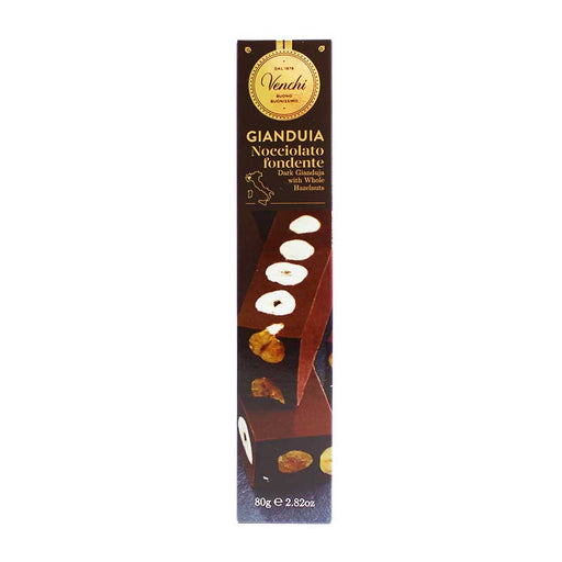 Venchi Triple Dark Layered Cremino Bar 2.8 oz