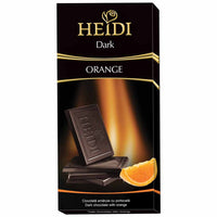Heidi Dark Chocolate with Orange 2.8 oz. (80g)
