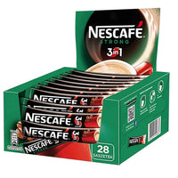 Nescafe Individual 3 in 1 Strong Instant Coffee 28 Packets