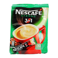 Nescafe - 3 in 1 Strong Instant Coffee 10 - 18g Packets
