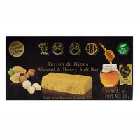 Premium Almond and Honey Soft Turron de Jijona by 1880 5.3 oz