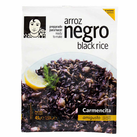 All Natural Instant Black Rice Mix by Carmencita 1.6 oz