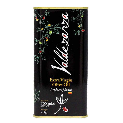 Cold Extraction Extra Virgin Olive Oil by Valdezarza 17 oz