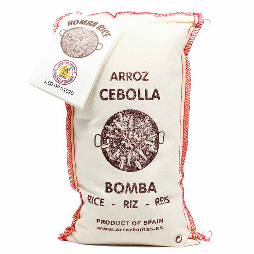 Spanish Bomba Paella Rice D.O.P. By Antonio Tomas 17.5 oz