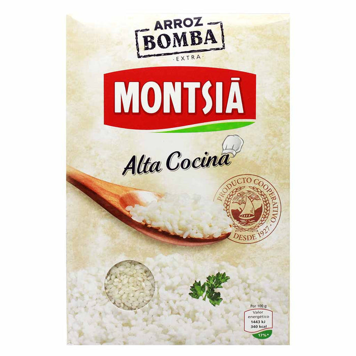 Authentic Bomba Calasparra Paella Rice by Montsia 2.2 lbs