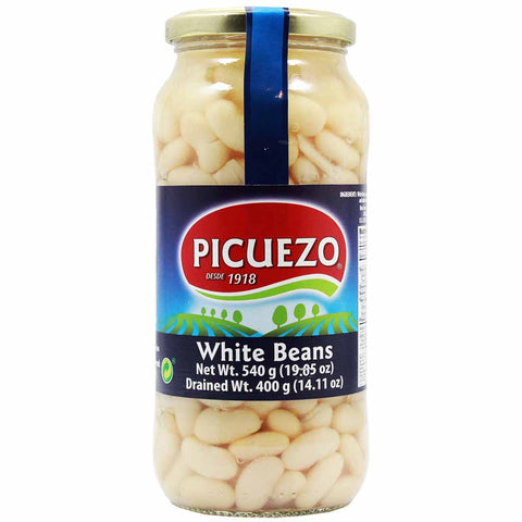 Spanish White Beans by Picuezo 14 oz