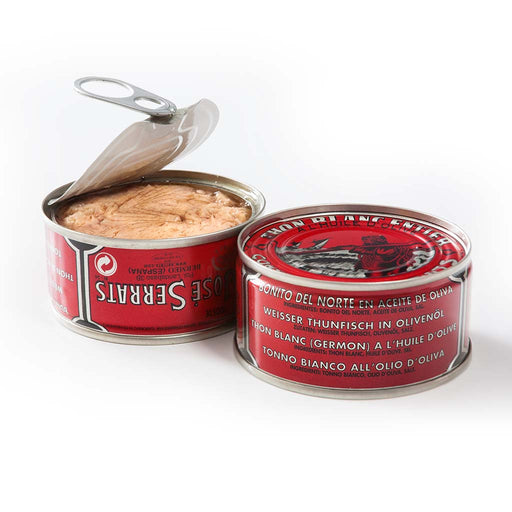 Spanish White Tuna in Olive Oil by Serrats 4 oz
