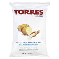 Torres Chips, Large with Mediterranean Salt, 5.29 oz.